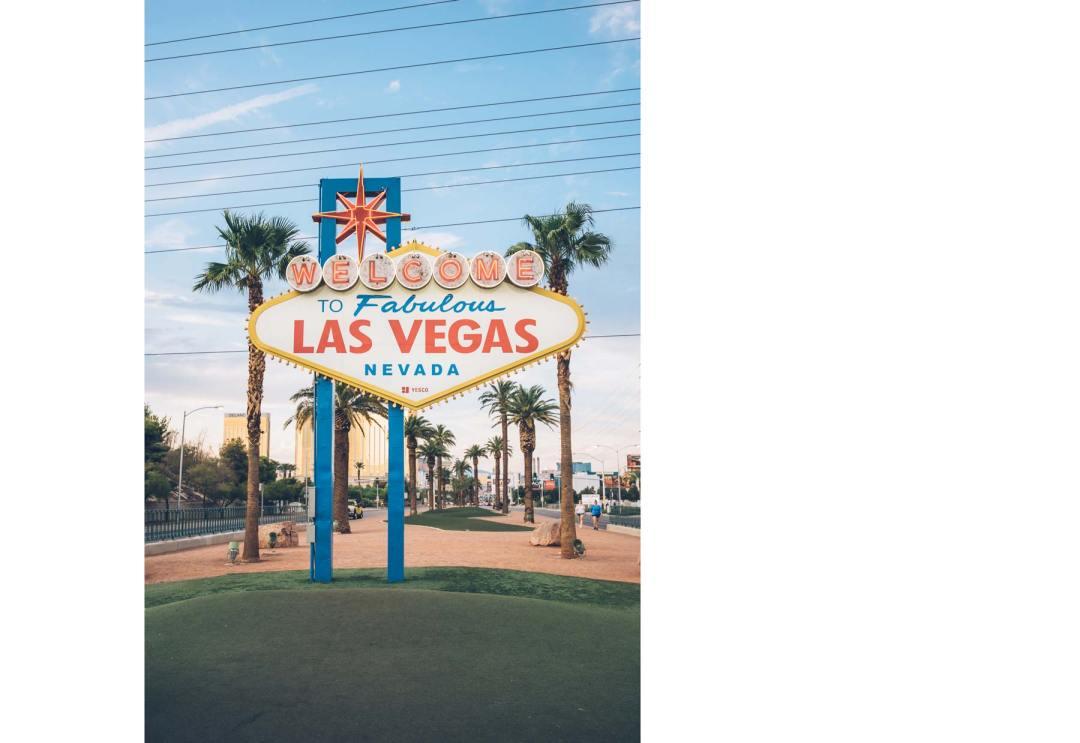 Panneau Las Vegas, au sud de la ville
