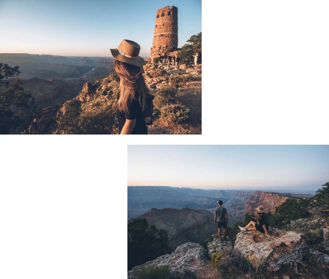 Grand Canyon Sud, Desert view Watchtower