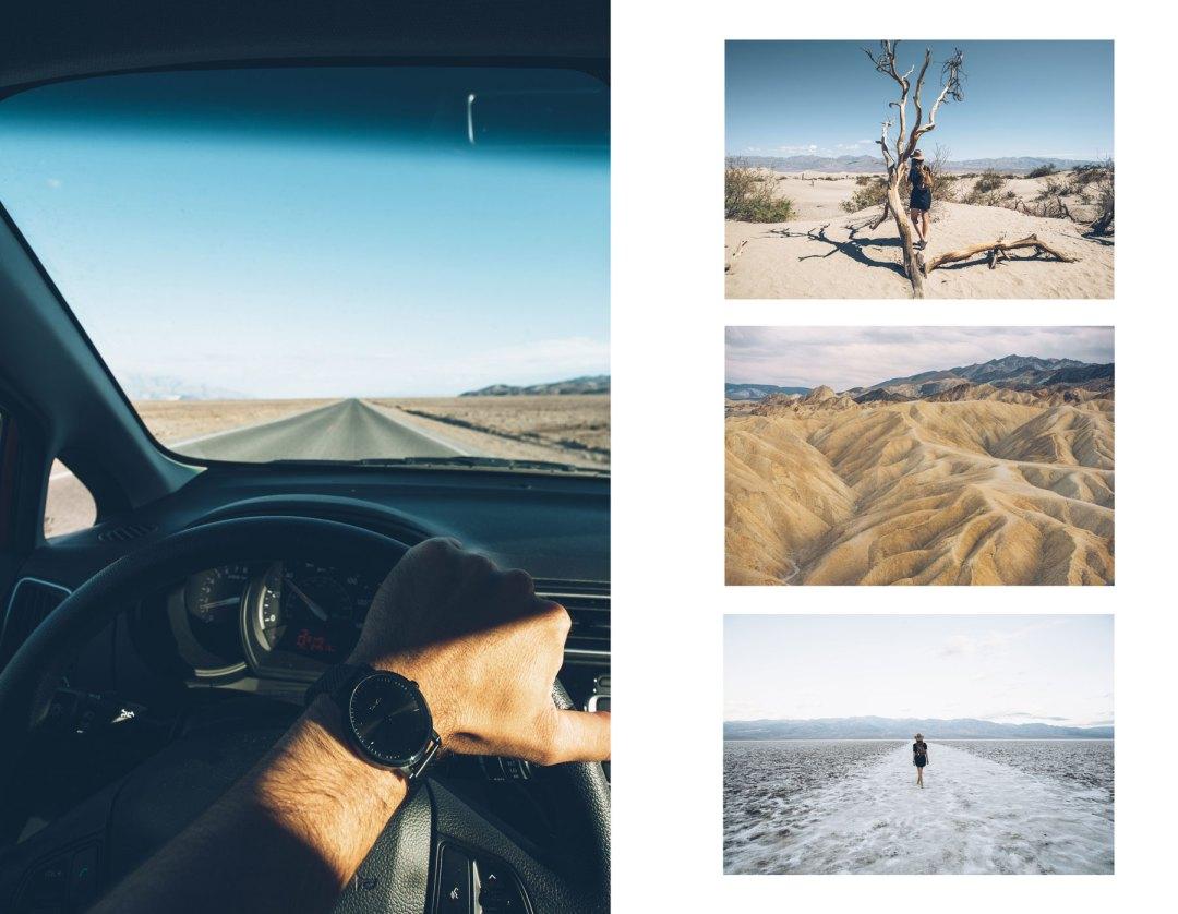 Valley de la Mort, Road Trip Etats Unis