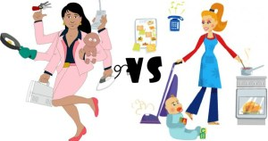 Best Jobs For Moms: Working Moms Against Stay At Home Moms