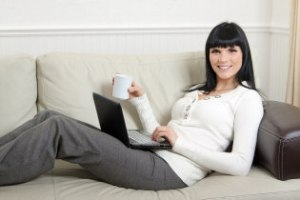 best Jobs For Moms: Mom Working from Home