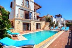Villa Turkuaz uzumlu kalkan private pool turkey