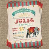Circus uitnodiging 2