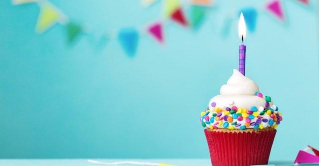 blogverjaardag trakteren