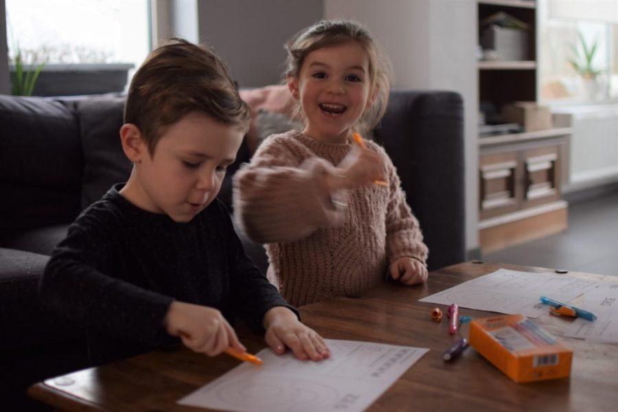 cijferplaten - cijfers leren schrijven