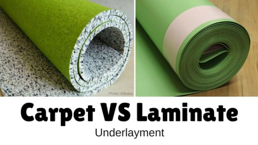 Can You Use Carpet Underlay Under Laminate Flooring Lets