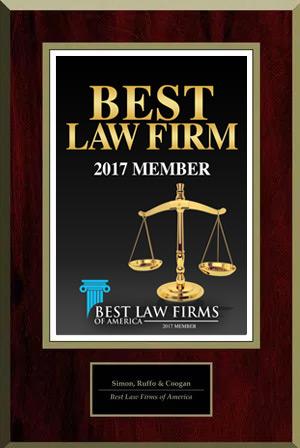 Best Law Firms Member Plaque