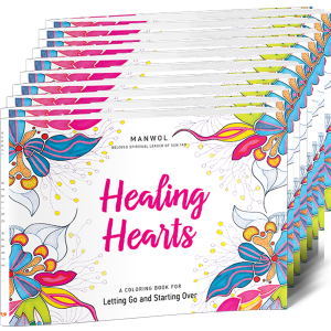 Healing Hearts Coloring Book 10-Pack