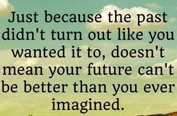 the past didn't turn out like you wanted it to