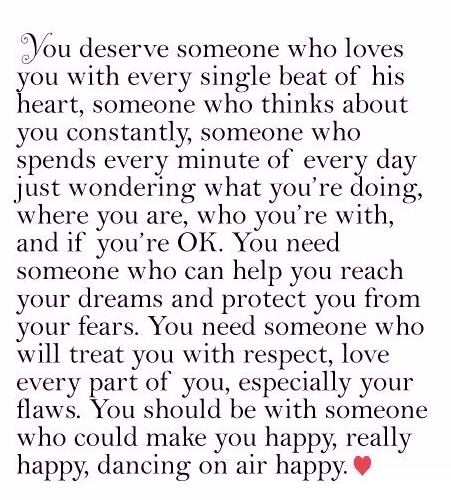 Best Love Quotes You Deserve Someone Who Loves You With Every