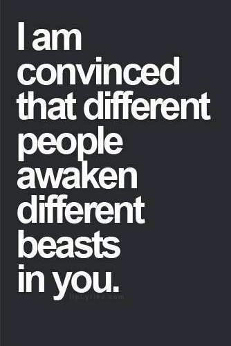 Best Love Quotes I Am Convinced That Different People Awaken