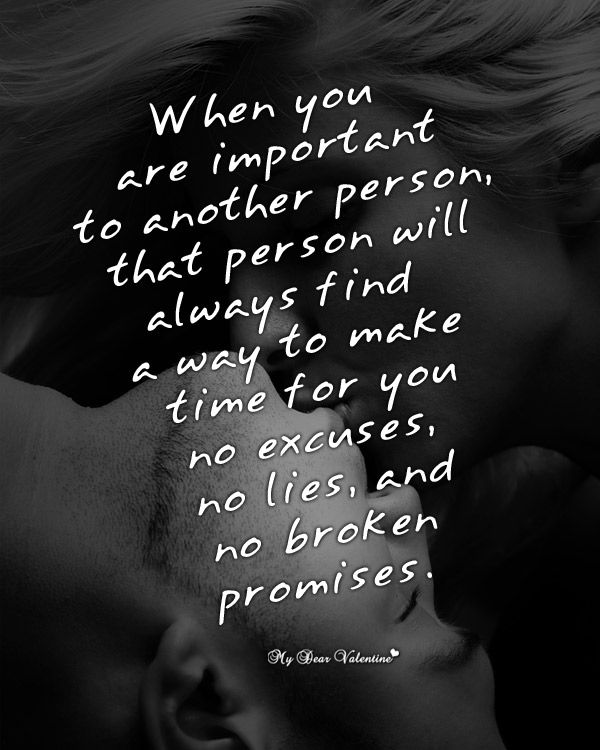 Best Love Quotes When You Are Important To Another Person That