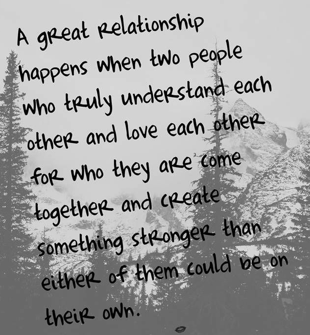 Best Love Quotes Great Relationship Happens When Two People Who