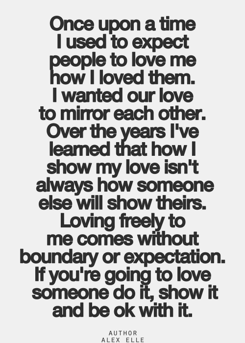 best love quotes - Loving freely to me comes without