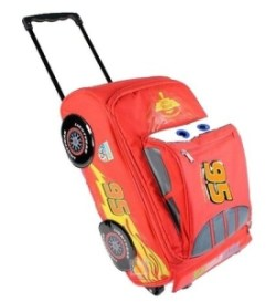 Disney Pixar Cars 2 Rolling Lightning McQueen Luggage Suitcase Review