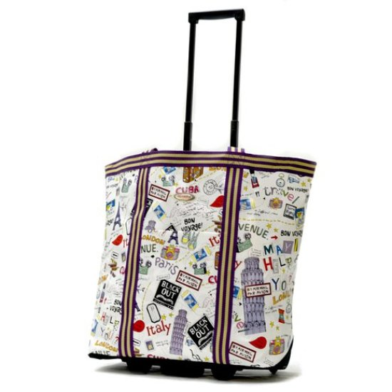 Olympia Luggage Cosmopolitan Rolling Shopper Tote Review