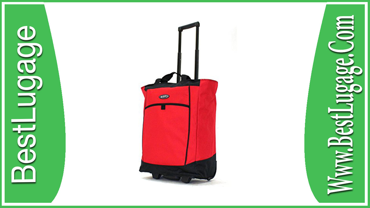 af16dfccca Olympia Luggage Rolling Shopper Tote Review