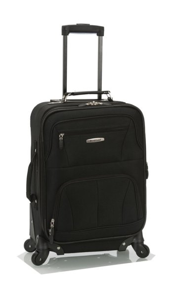 Rockland Luggage 19 Inch Expandable Spinner Carry On Review ...