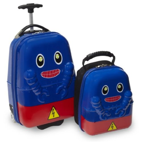 Travel Buddies Rusty Robot Luggage Review