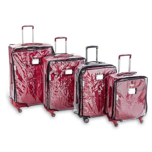 """Blasani Luggage Protector Suitcase Clear PVC Cover Fits Most (20"""" to 30"""") Bags Review"""