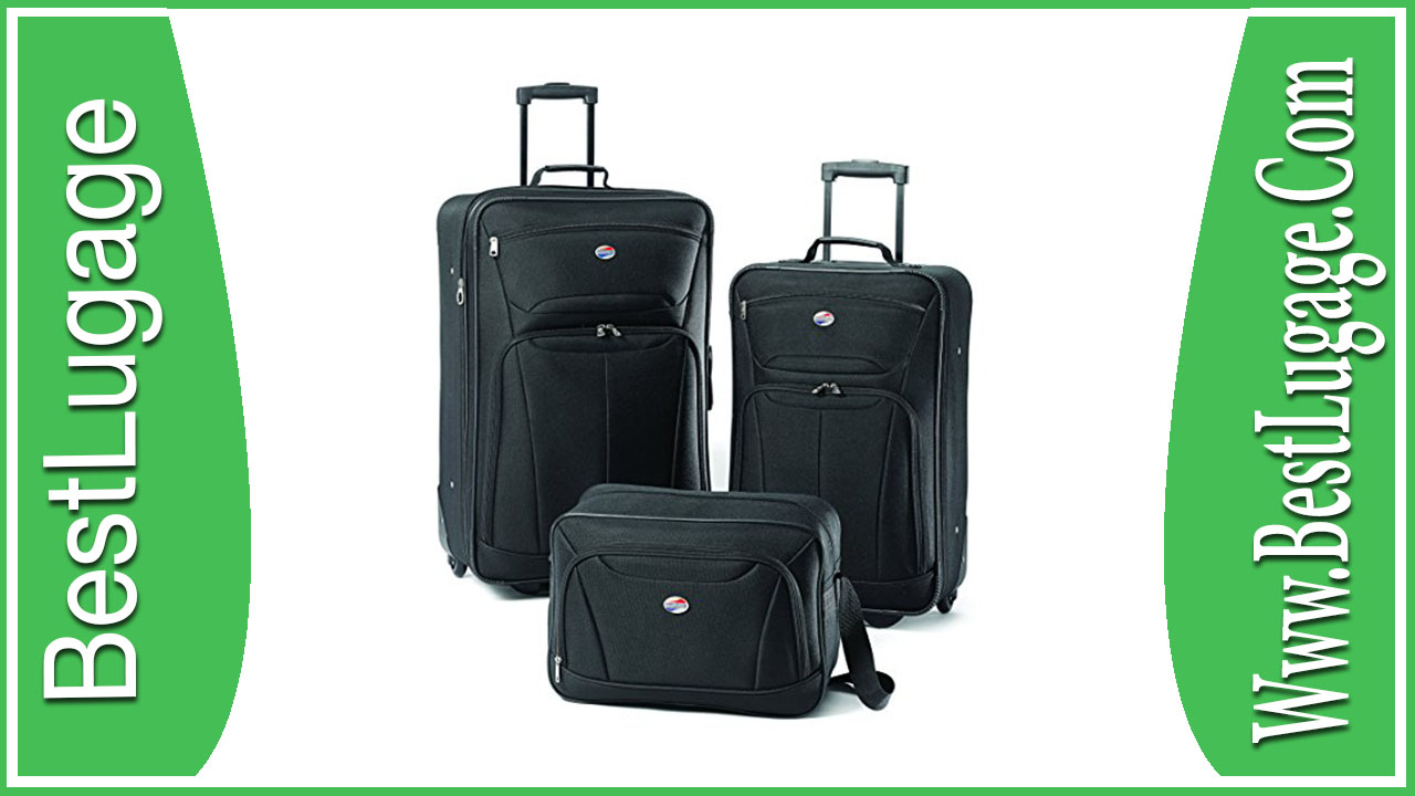 American tourister luggage at pop 3 piece spinner set review
