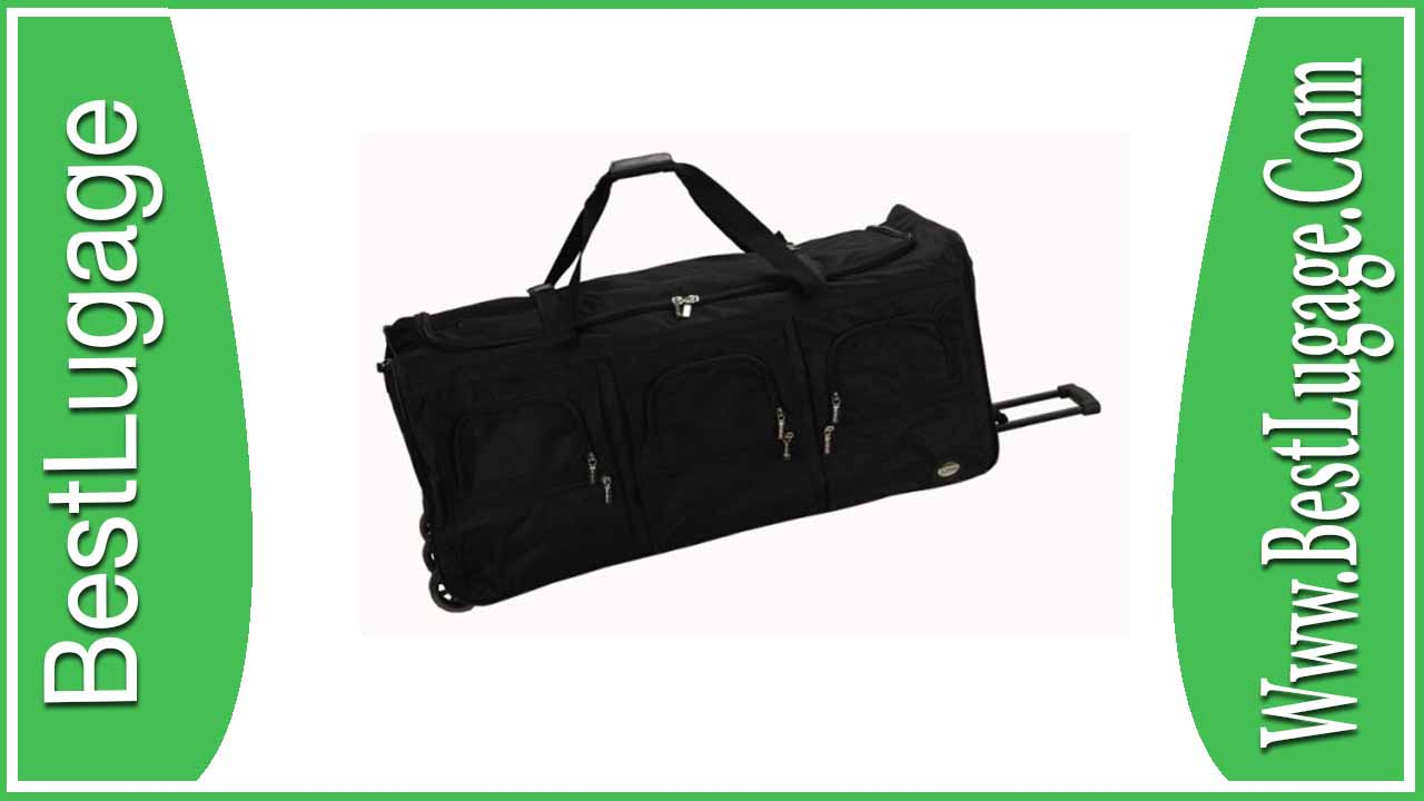 Rockland Luggage 40 Inch Rolling Duffle Review 190ed56288c3d