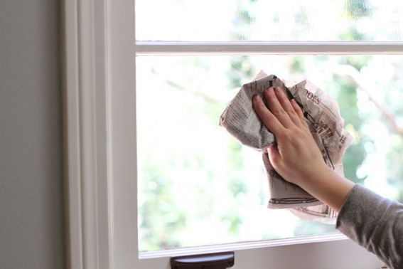 Image result for window cleaning using newspaper