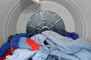 Clothing in Clothes Dryer