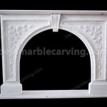 White Marble Fireplace Mantel Mordern Statue Marble Fireplace Fountain
