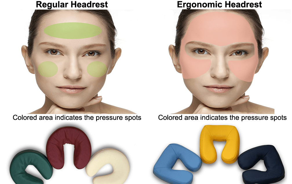face pillow only massage tables