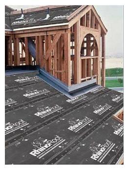 rhinoroof rsa peel stick roofing underlayment 2 sq roll 3x67 ft