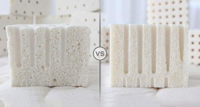 Ing A Latex Mattress Dunlop Vs Talalay