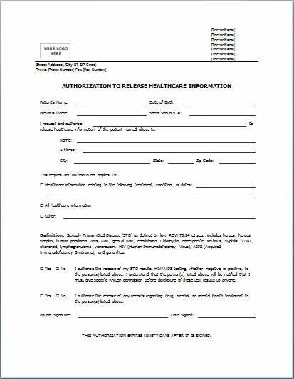 Sample Permission Letters Medical