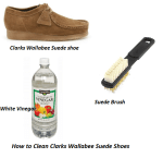 How to Clean Clarks Wallabee Suede Shoes