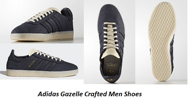 Adidas Gazelle Crafted Men Shoes; Key Features and Benefits