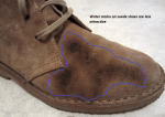 How to Remove Water Stains on Suede Shoes