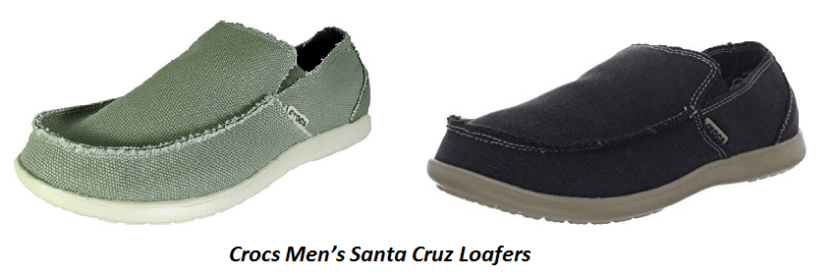 Amazing Characteristics of the Crocs Men's Santa Cruz Loafers