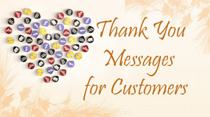 Thank You Messages For Customers Customer Thank You Wishes