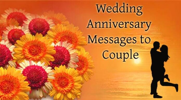Couple Wishes Anniversary