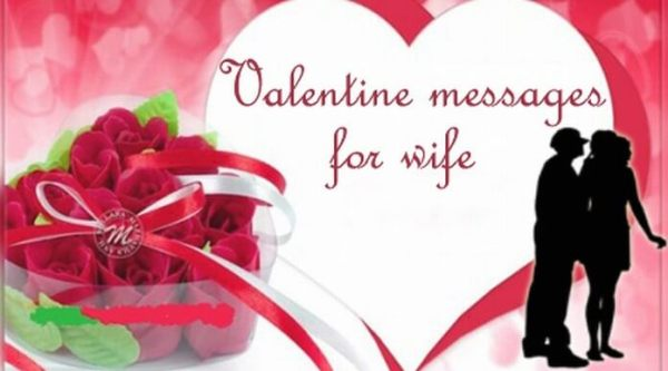 Valentine Day Messages for Wife 2018, Valentine Love ...