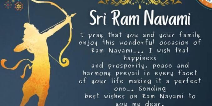 Ram Navami Messages, Ram Navami Wishes image