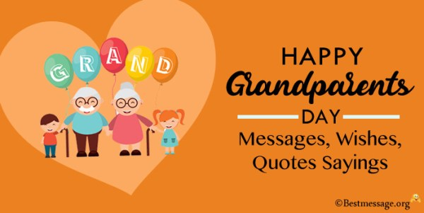 Grandparents Day Message, Best Grandparents Day Wishes, Quotes