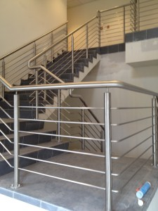 Stainless Steel Staircase Balustrade & Handrails