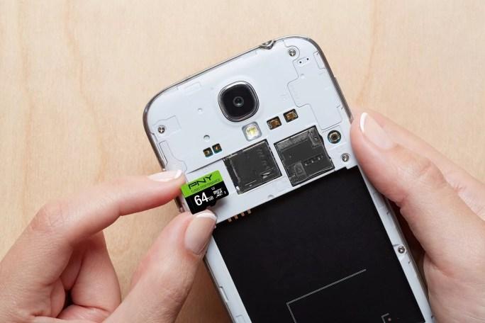 PNY U3 64GB MicroSDXC Class 10 Flash Card