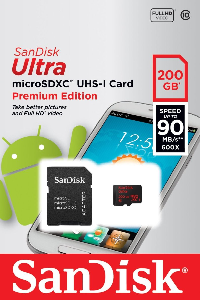 Amazon Micro SD Card - world's largest microSD card