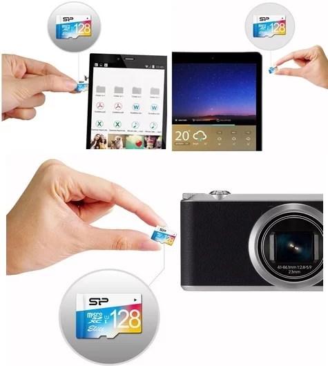 Silicon Power Elite 128gb Micro SD Card Details