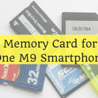 Best Memory Card for HTC One M9 Smartphone