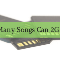 How Many Songs Can 2GB Hold