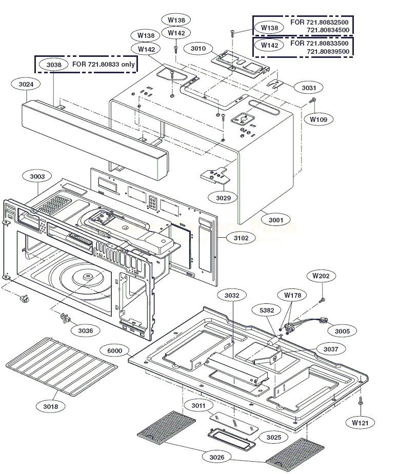 Kenmore Microwave Parts Diagram - Wire Data •