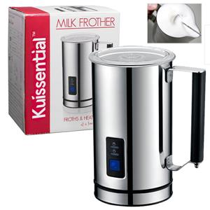 Kuissential Deluxe Automatic Milk Frother and Warmer Cappuccino Maker